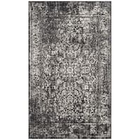 Safavieh Evoke Vintage Oriental Black/ Grey Distressed Rug - 3' x 5'