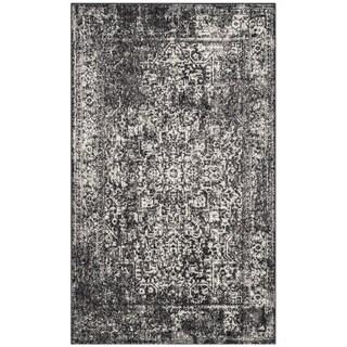 Safavieh Evoke Vintage Oriental Black/ Grey Distressed Rug (3' x 5')