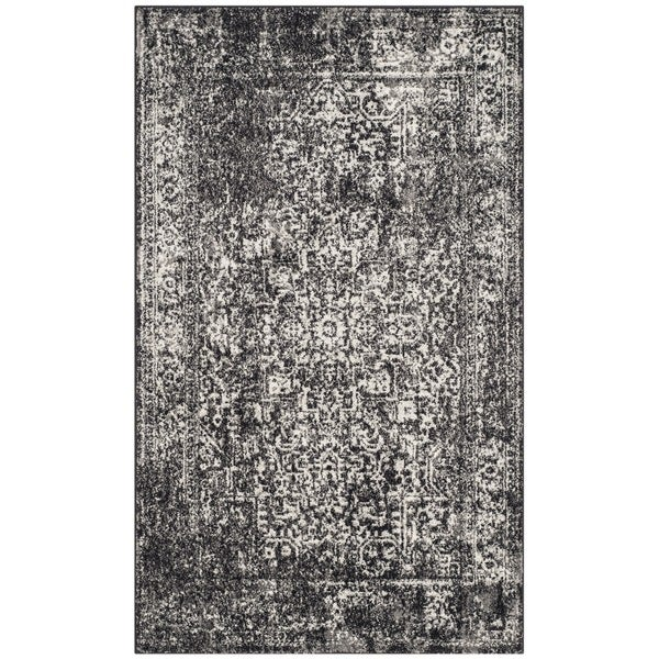 Shop Safavieh Evoke Vintage Oriental Black Grey