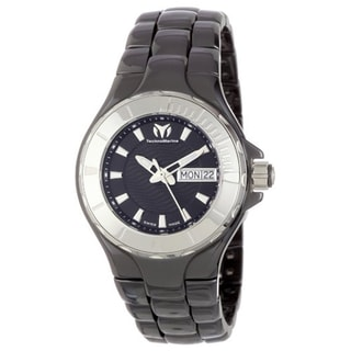 Technomarine Unisex Ceramic 110026C Cruise Black Dial Watch