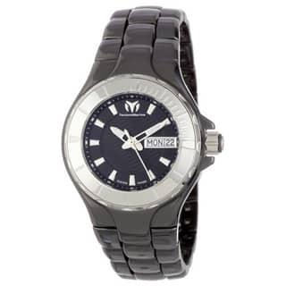 Technomarine Unisex Ceramic 110026C Cruise Black Dial Watch|https://ak1.ostkcdn.com/images/products/11333925/P18309221.jpg?impolicy=medium