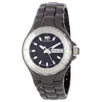 TechnoMarine Women's 110026C 'Cruise' Black Ceramic Watch