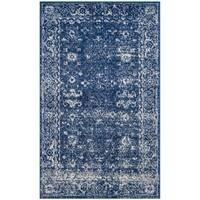 Safavieh Evoke Vintage Oriental Navy Blue/ Ivory Distressed Rug (3' x 5')