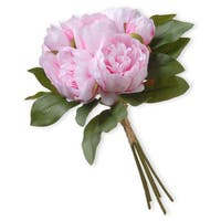 National Tree Company Light Pink Peony Bundle