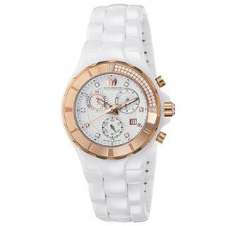 Technomarine Women's Ceramic Diamond 110033C Cruise White Dial Chronograph Watch|https://ak1.ostkcdn.com/images/products/11333946/P18309226.jpg?impolicy=medium