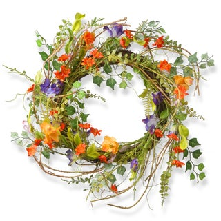 National Tree Company Morning Gloring 22-inch Wreath