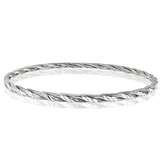 Mondevio High Polished Diamond-cut 3mm Bangle|https://ak1.ostkcdn.com/images/products/11334005/P18309285.jpg?impolicy=medium