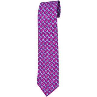 Davidoff Purple Twill Silk Neck Tie