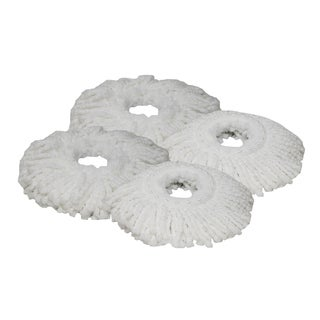 4 Hurricane Mop Pads Fit Hurricane PRO 360 Rotating Spin Magic