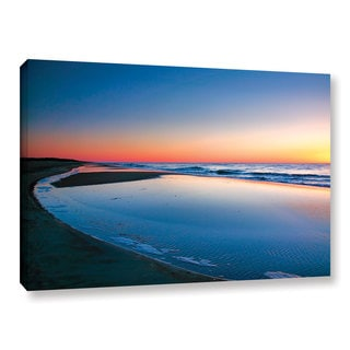 ArtWall Steve Ainsworth's Sea and Sand II, Gallery Wrapped Canvas