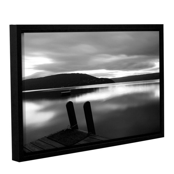 ArtWall Steve Ainsworth's Still Waters, Gallery Wrapped Floater-framed Canvas