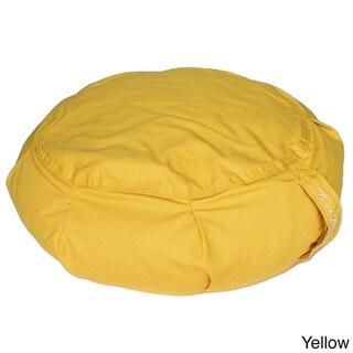 Buckwheat-filled Zafu Pillow