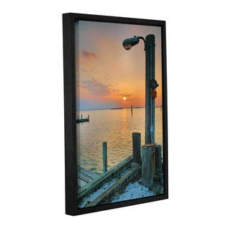 ArtWall Steve Ainsworth's Sunset Bay II, Gallery Wrapped Floater-framed Canvas