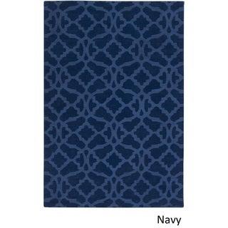 Hand-Loomed List Wool Rug (10' x 14')