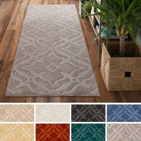 Copper Grove Santa Fe Hand-loomed Wool Runner Rug