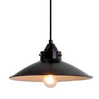 Catalina  Bronze 1-light Metal Farmhouse Pendant