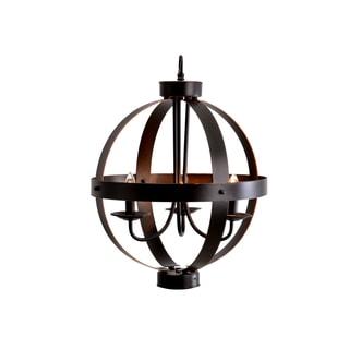 Catalina Bronze 3-light Metal Orb Chandelier