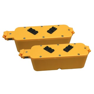 2pk Replacement Batteries, Voltage: 14.4V, Capacity: 2500mAh, Fits Roomba 4000 Series