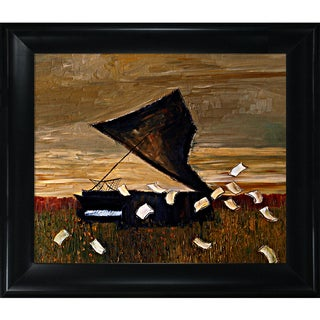 Justyna Kopania 'Piano' Framed Fine Art Print