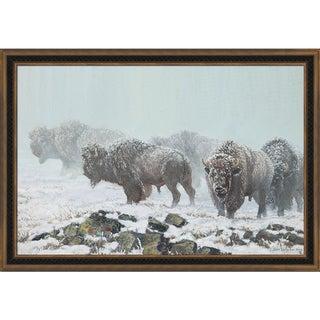 John Lofgreen 'The Shapes of Winter' Framed Fine Art Print