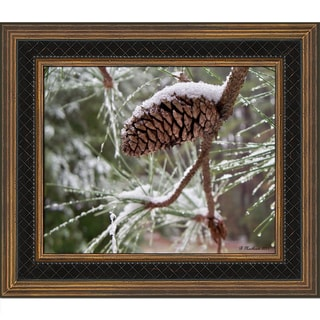 Betty Northcutt 'Snow in the Pines' Framed Fine Art Print