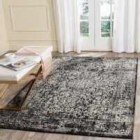 Safavieh Evoke Vintage Oriental Black/ Grey Distressed Rug - 5'1 x 7'6