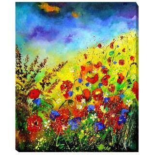 Pol Ledent 'Summer 4574' Framed Fine Art Print on Canvas