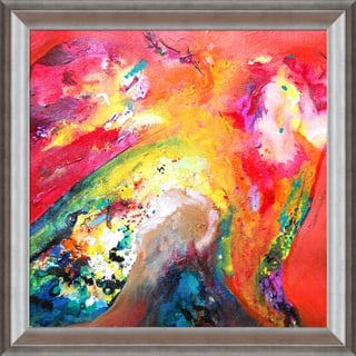 Sanjay Punekar 'Harmony' Framed Fine Art Print on Canvas