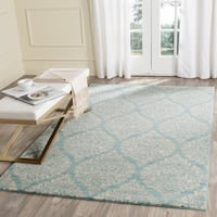 Safavieh Evoke Vintage Damask Light Blue/ Ivory Distressed Rug - 5' 1 x 7' 6