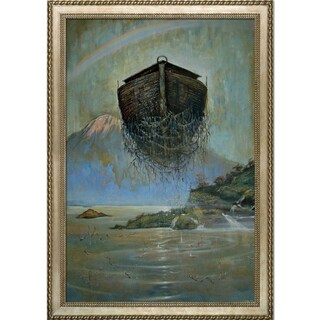 Sergey Roy 'Eternal Ark' Framed Fine Art Print on Canvas