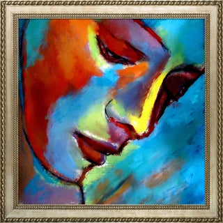 Helena Wierzbicki 'Near to the Heart' Framed Fine Art Print on Canvas