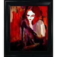 Helena Wierzbicki 'Finesse' Framed Fine Art Print on Canvas
