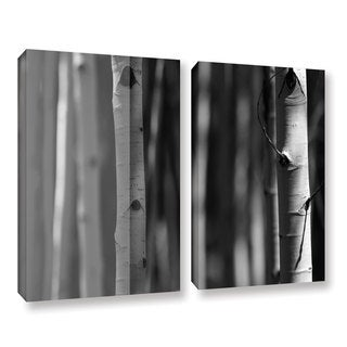 ArtWall Mark Ross's A Way Out, 2 Piece Gallery Wrapped Canvas Set