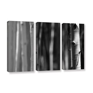 ArtWall Mark Ross's A Way Out, 3 Piece Gallery Wrapped Canvas Set