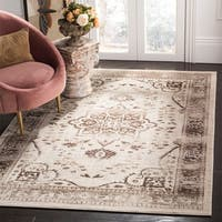 "Safavieh Evoke Vintage Oriental Medallion Beige/ Brown Distressed Rug - 5'1"" x 7'6"""
