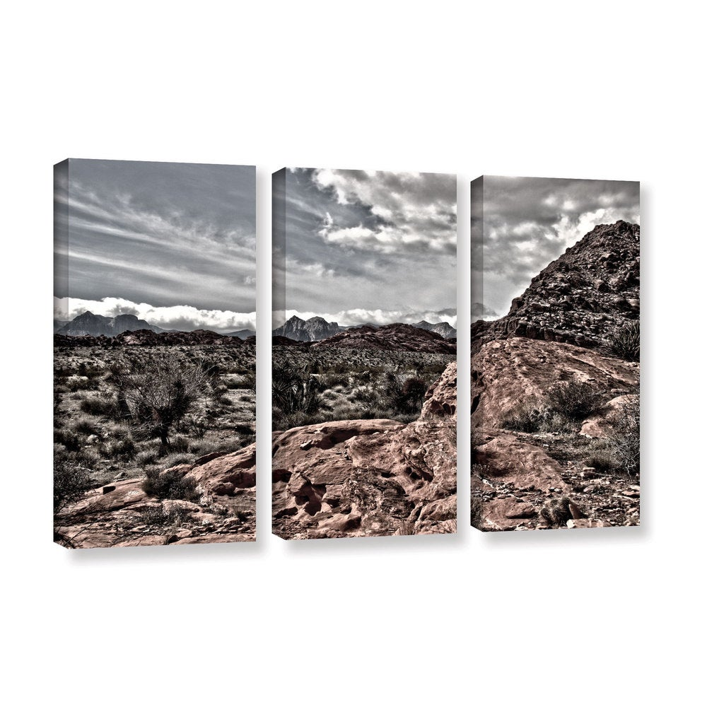 Artwall Mark Ross S Fingertip Afternoon 3 Piece Gallery Wrapped Canvas Set Multi On Sale Overstock 11334581