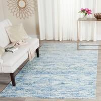 Safavieh Handmade Himalaya Blue Wool Tibetan Area Rug - 5' x 8'