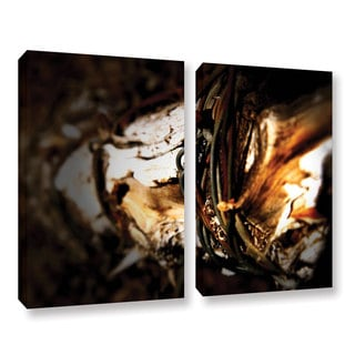 ArtWall Mark Ross's Mend, 2 Piece Gallery Wrapped Canvas Set