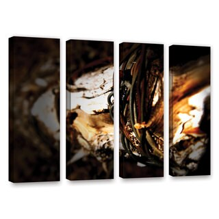 ArtWall Mark Ross's Mend, 4 Piece Gallery Wrapped Canvas Set