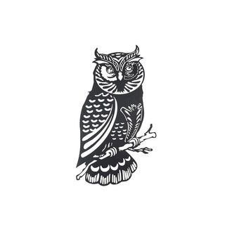 Sunjoy Owl Metal Black 41-inch Laser Cut Wall Decor