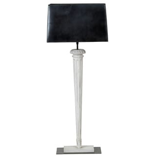 Collison Pin Wood Base Table Lamp