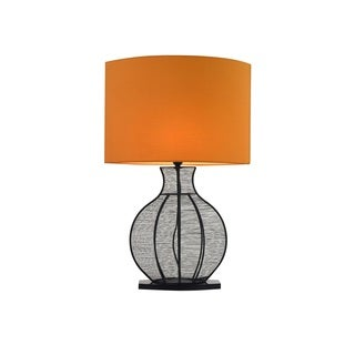 Henson Table Lamp Cream Metal