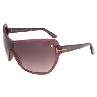 Tom Ford FT0363 71Z Ekaterina Women s Oversized Shield Sunglasses