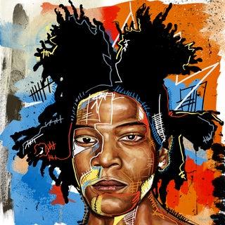 Maxwell Dickson 'JMB2' Modern Canvas Wall Art