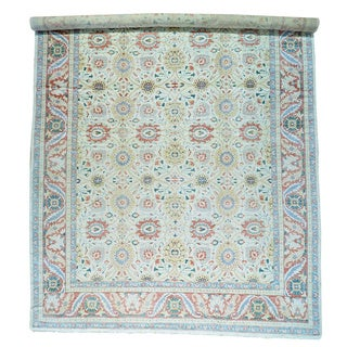 Vintage Egyptian Sultanabad Vegetable Dyes Rug (15'4 x 28'8)