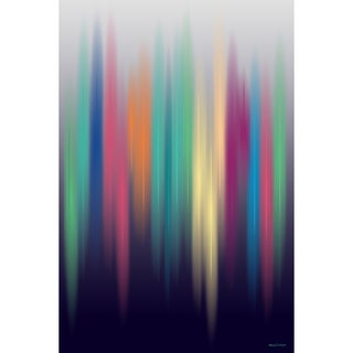 Maxwell Dickson 'Aurora' Modern Canvas Wall Art