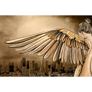 Maxwell Dickson 'City of Angels' Modern Canvas Wall Art