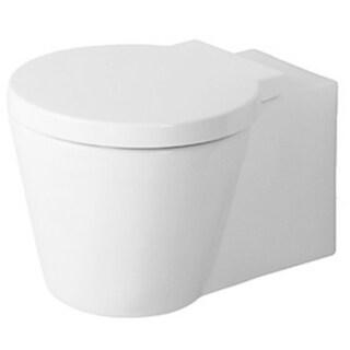 Duravit Toilet Wall-mounted Starck 1 White/ Washdown Model Wondergliss White Alpin