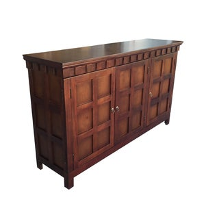 Handmade D-Art Texas 3-Door Buffet Console (Indonesia)