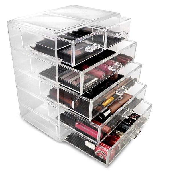 Makeup organizer for countertop